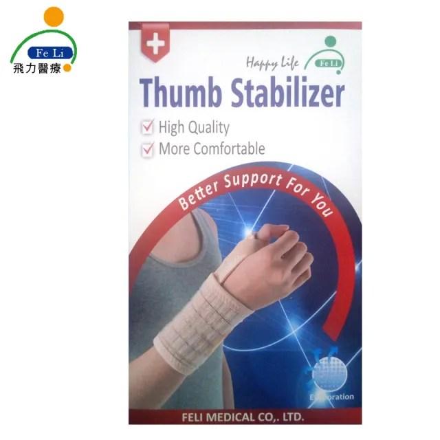 【Fe Li 飛力醫療】HA系列 加強型拇指夾板/護腕(H18-醫材字號)