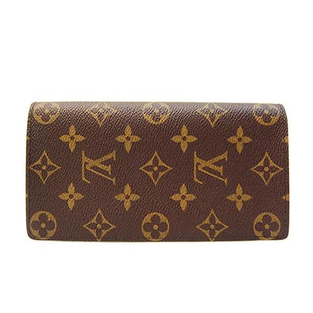 【Louis Vuitton 路易威登】M66540 經典花紋多層次長夾
