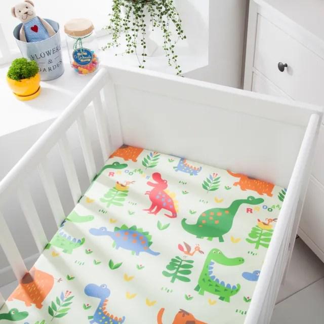 【BOREII】全新二代-防水透氣純棉嬰兒床單-二款花色(防水墊 尿布墊 防尿墊 嬰兒床單 床包)