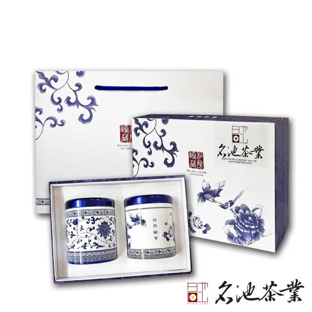 【名池茶業】福壽梨山極品手採烏龍茶禮盒任選2盒組(75g x2 / 盒  共2盒)