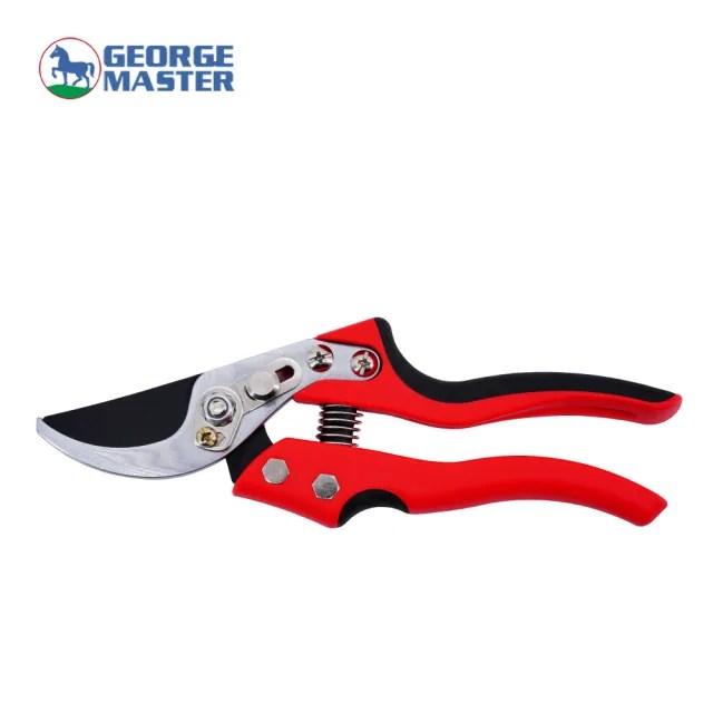 【GEORGE MASTER G3750】台灣製造 修枝剪 園藝剪刀 園林剪刀 花剪 果樹剪 嫁接剪