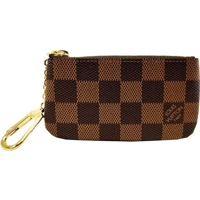 【Louis Vuitton 路易威登】N62658 棋盤格紋小型方型鑰匙零錢包(經典棋盤格)