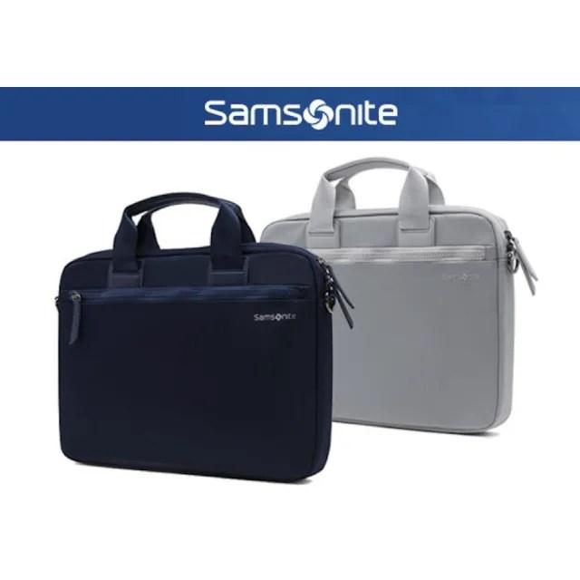 【Samsonite 新秀麗】DENDI-ICT BP5*002-13.3吋 筆電手提包 附肩背帶(電腦包)