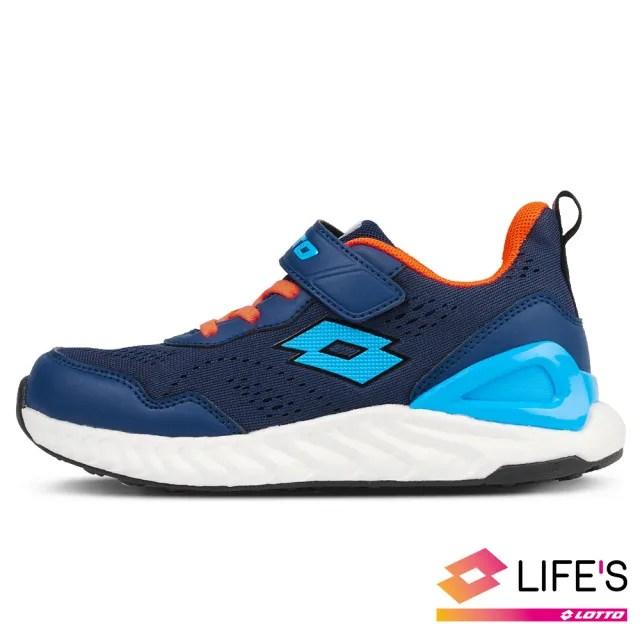 【LOTTO】運動鞋 兒童鞋  速 SPEED 跑鞋(藍-LT0AKR2636)