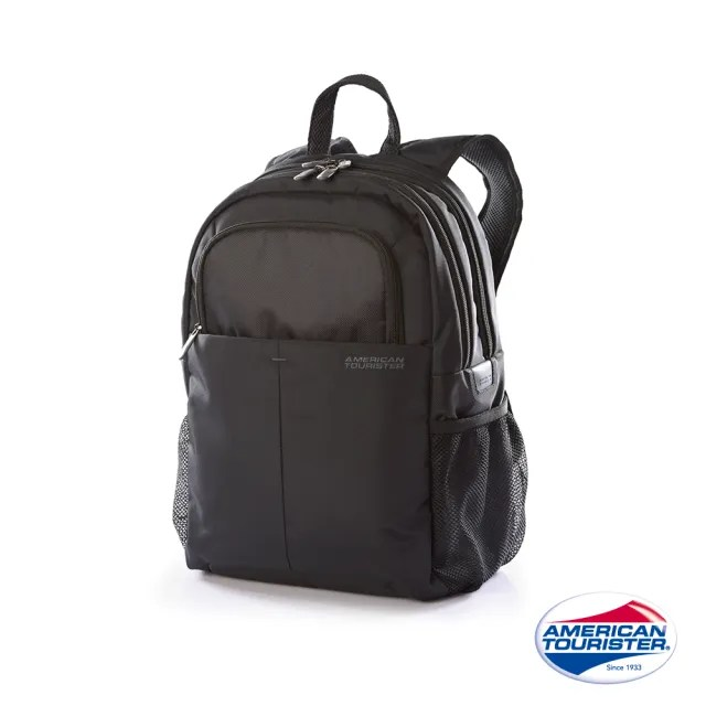【AT美國旅行者】Speedair筆電後背包16.4吋 黑(23Z)