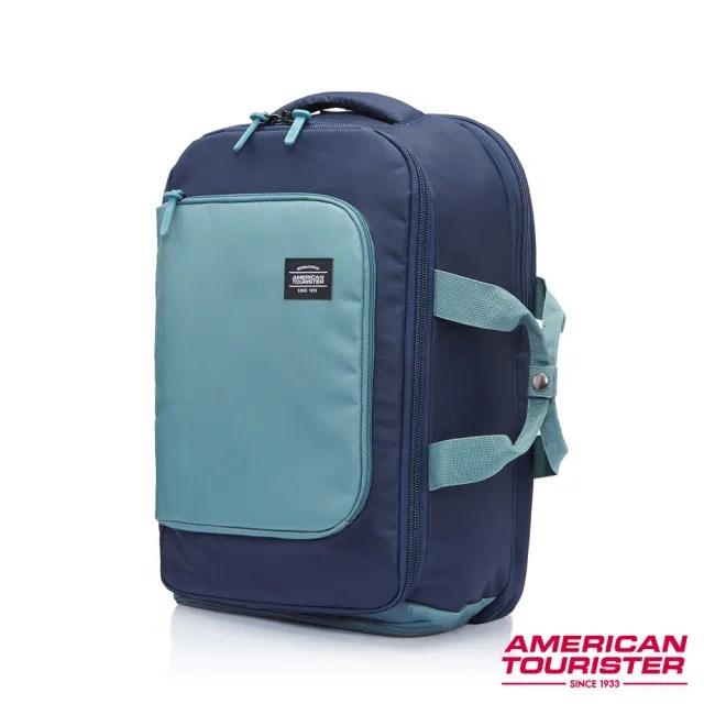 【AT美國旅行者】Aston輕旅行可擴充多功能筆電後背包 多色可選(GT0)