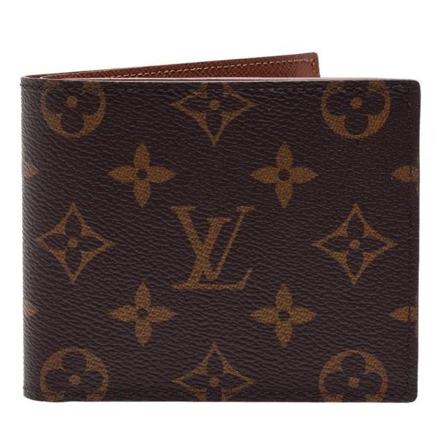 【Louis Vuitton 路易威登】M62288 經典MARCO系列Monogram帆布印花折疊短夾(零錢袋)