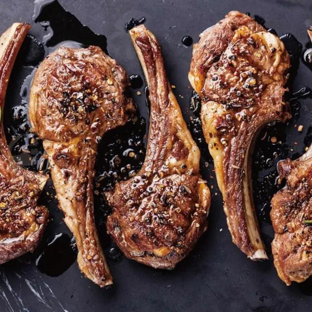 【勝崎生鮮】澳洲帶骨小羊排10包組(100g±10%/2片)