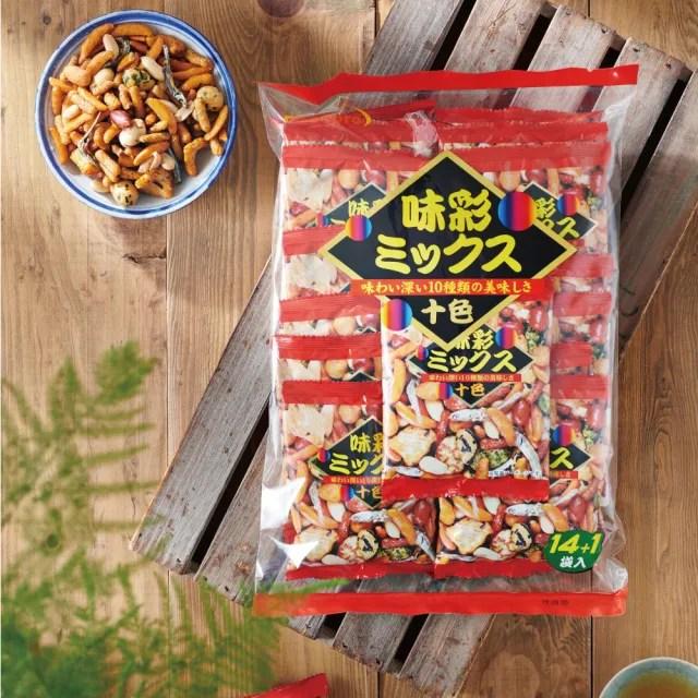 【Foodpro 優群】味彩綜合豆果子 360g/袋(日本綜合果子、14+1袋 大包裝)