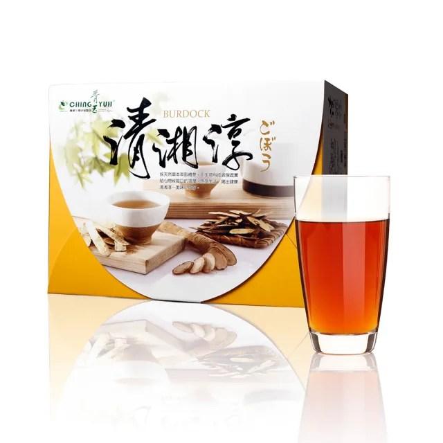 【青玉牛蒡茶】清湘淳白鶴靈芝草牛蒡茶包(6g*50包入/盒)
