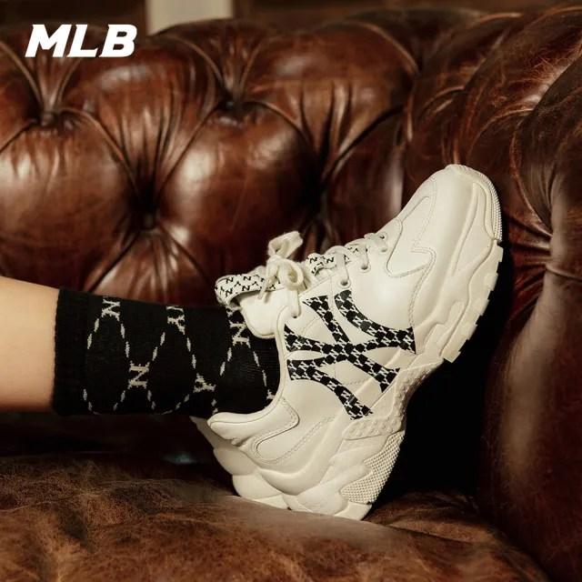 【MLB】MONOGRAM老花老爹鞋 紐約洋基隊 BIG BALL CHUNKY系列(32SHCM011-50W)