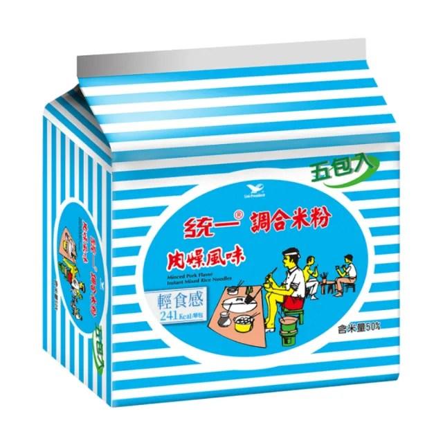【統一】統一調和米粉肉燥風味袋30入/箱