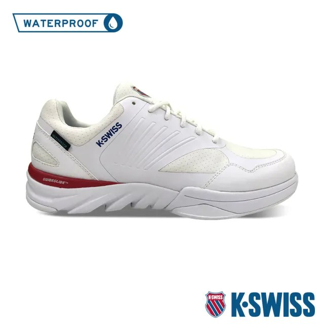 【K-SWISS】防水運動鞋 Ace Trainer 24+ WP-中性-白(76965-188)