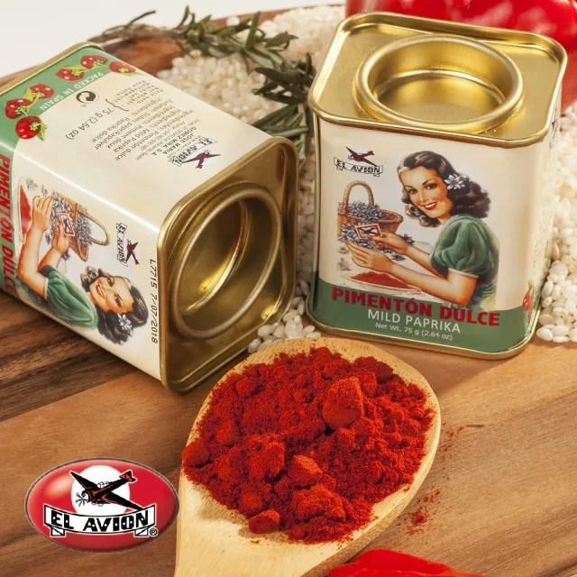 【El Avion】西班牙香料航家天然經典紅椒粉 復刻限量版(75g)