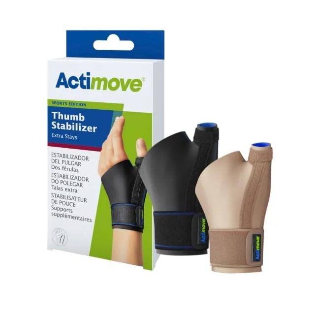 【Actimove】穩固型拇指套(單入)(德國醫療輕量型護具品牌 全面啟動系列 拇指護具 醫療護腕 醫療拇指護具)