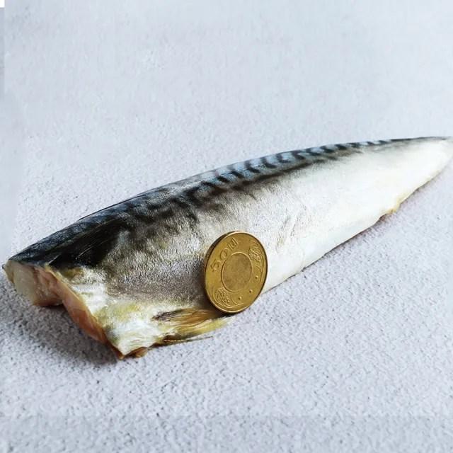 【優鮮配1】厚片超大油質豐厚挪威薄鹽鯖魚共20片(210g/片)