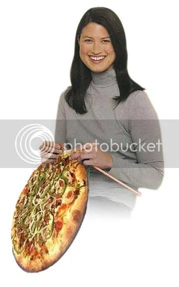 knit a pizza