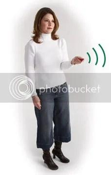 mum with tracker
