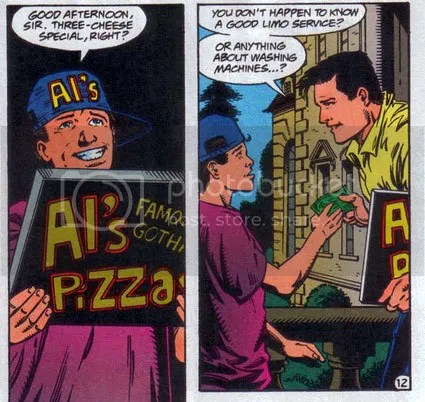 bruce wayne needs alfred pennyworth but pizza is good too