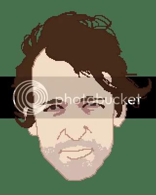 pixel portrait of jay