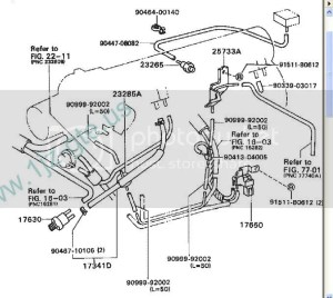 Need help with 1JZ vacuum lines and coolant  ClubLexus