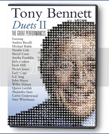 Tony Bennett: 'Duets II: The Great Performances' DVD Giveaway! – Jon
