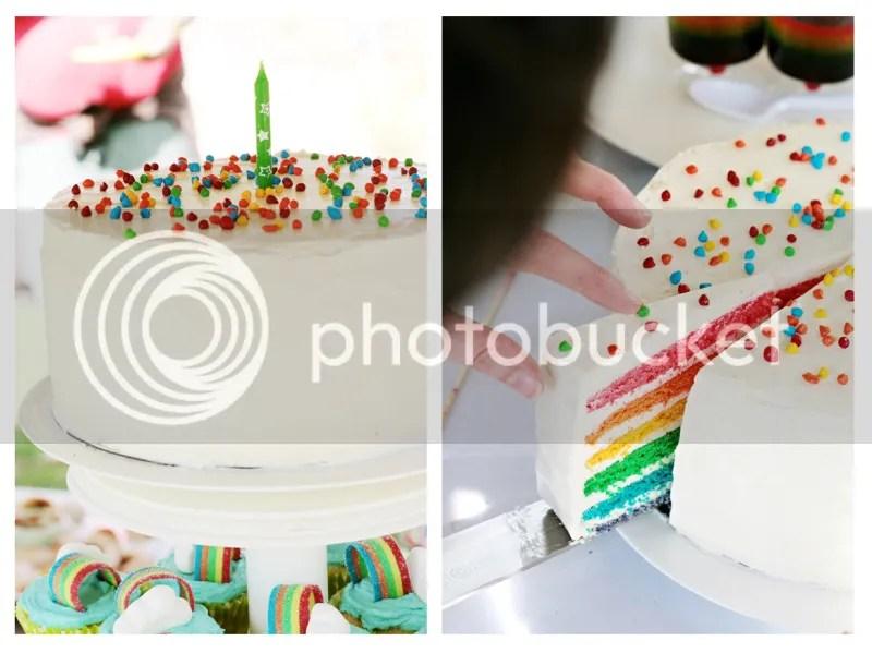 rainbow cake rainbow layer cake martha stewart