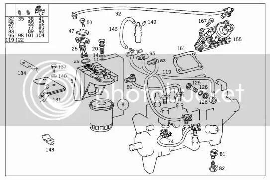Mercedes Vito Parts Diagram