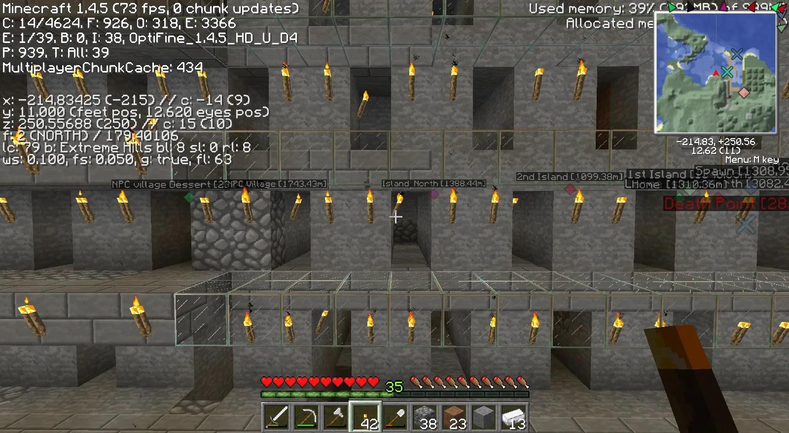 Minecraft Haba Most Found Diamonds
