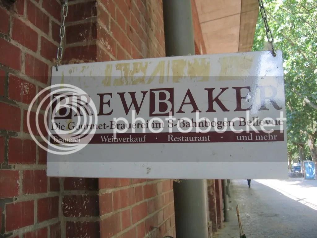 BrewBaker sign