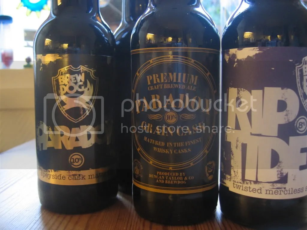 Brew Dog bottles