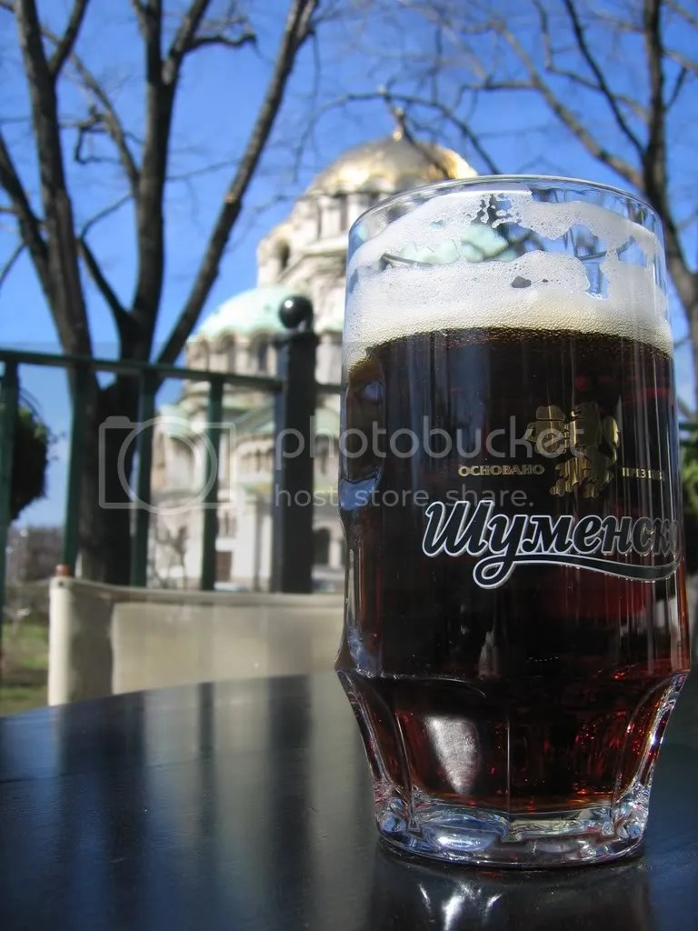 Beer in Sofia