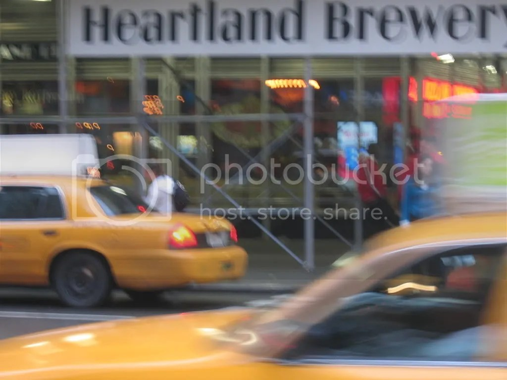 yellow cabs and beer
