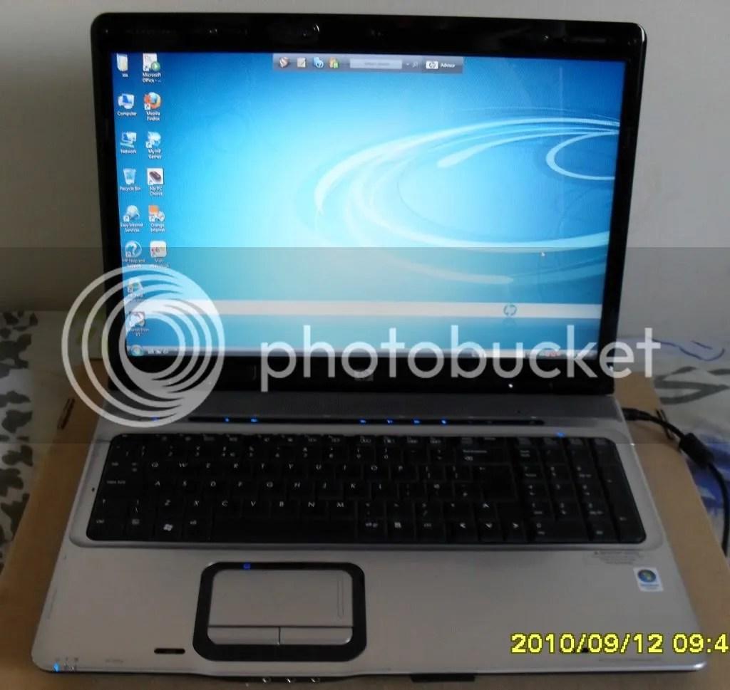 Hp Dv9500 Dv9000 Dv9700 Laptop 2 0ghz 2gb 250gb 17 Wifi Ebay