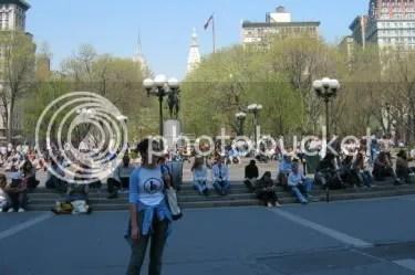 chillin in union square