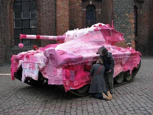Knit Tank by Mariann Joergensen