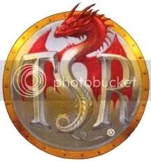 Logo da TSR usado entre 1992 e 1999