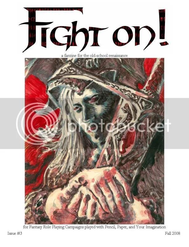 Capa da Fight On! #3