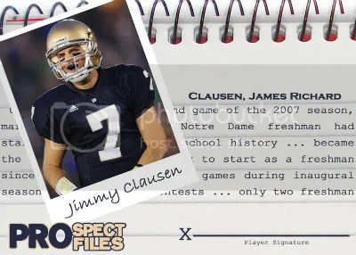 Jimmy Clausen Base
