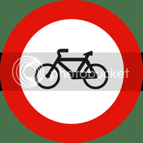 [prohibido bicis]