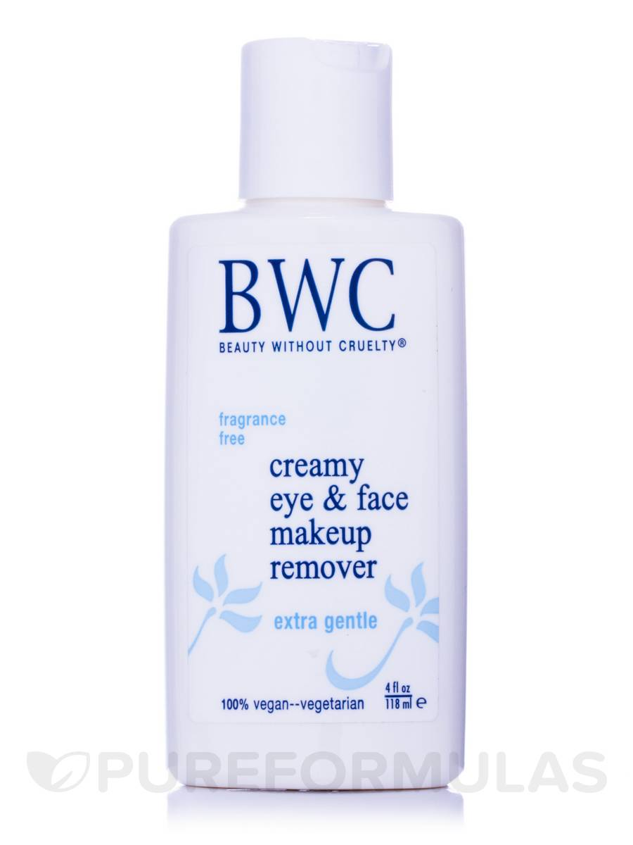 Bwc Fragrance Free Creamy Eye And Face Makeup Remover - 4 Oz, 6 Pack DeVita - Natural Skin Care Try Me Kit For Oily Acne Prone Skin(pack of 6 )