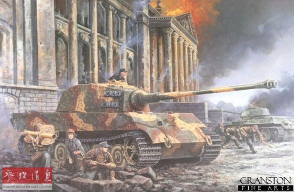 從一次世界大戰到伊拉克戰爭:繪畫大師筆下的百年坦克戰 - 壹讀