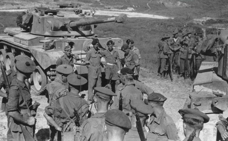 駐港英軍陸軍老照片:坦克裝甲車應有盡有戰鬥力卻不強 - 壹讀