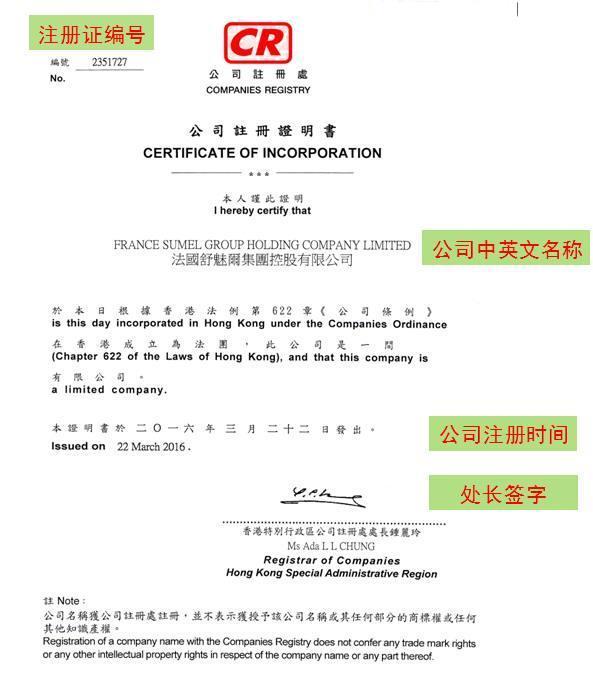 如何檢查香港公司註冊證書CI的真偽 - 壹讀