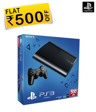 Sony PlayStation 3 500GB (New PS3)