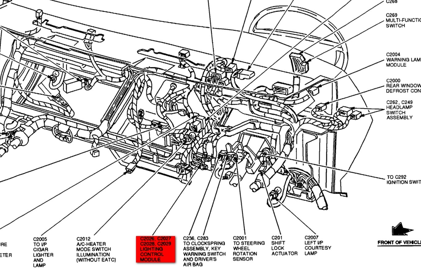 Ford Crown Vic Fuse Box Diagram