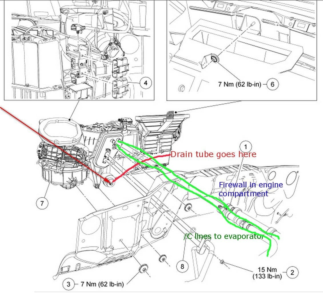 Chevy Tahoe Heater Hose Connector Diagram