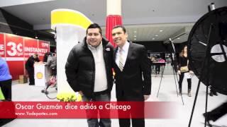 Oscar Guzman adiós Chicago