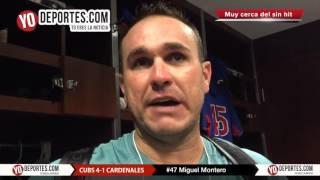 Miguel Montero cerca de un no hitter con Kyle Hendricks