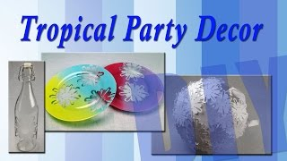 All-Star Designer Summer Series: Tropical Party Decor